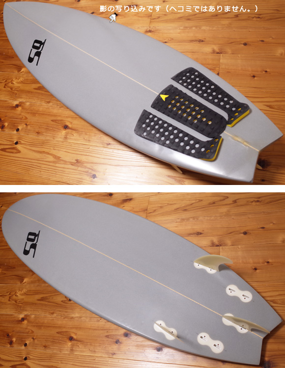 SEQUENCE 中古ショートボード 5`8 CUSTOM deck/bottom No.96291328