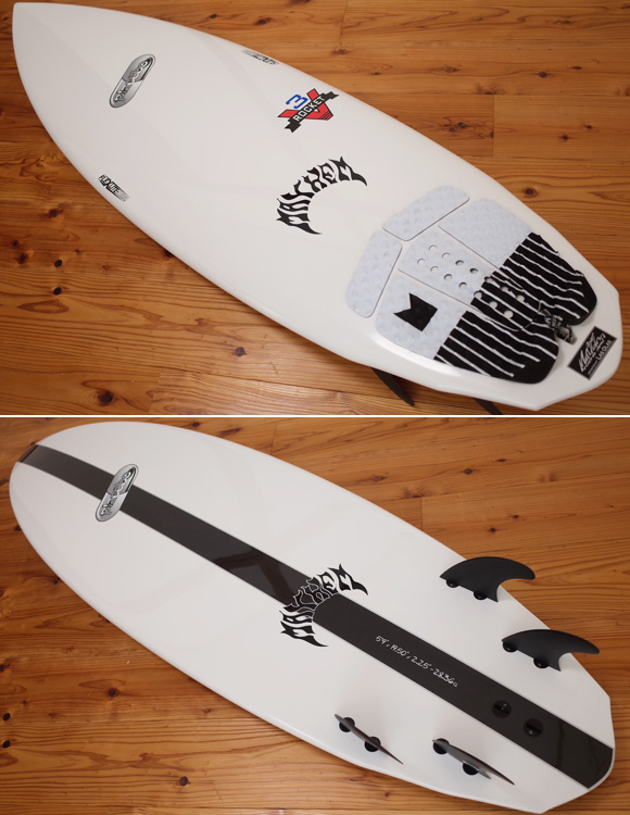 Placebo V3 ROCKET 中古ショートボード 5`9 5FIN deck/bottom No.96291329