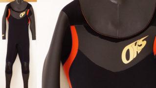 OCEANKIDS-OKS 中古ウェットスーツ セミドライ 5/3mm メンズ No.96291330