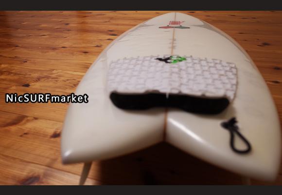 アルメリック FISHCUIT 中古ショートボード 5`4 deck-detail bno96291334