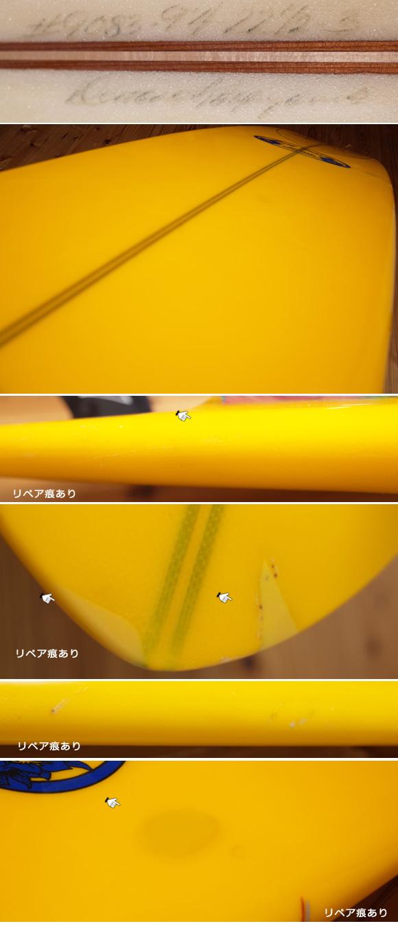ドナルドタカヤマ ノーズライダー 中古ロングボード 9`4 condition-1 No.96291339