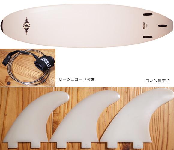 BIC SPORT MINI MALIBU 中古ファンボード 7`3 fin/option No.96291340