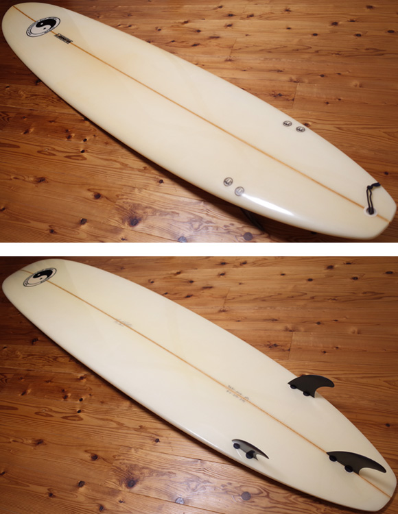 T&C J.JOHNSTON 中古ロングボード 9`0 deck/bottom No.96291341