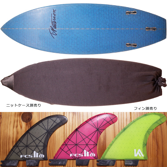 Timmy Patterson CHOPPED CLAM 中古ショートボード 5`11 fin/ニットケース No.96291344
