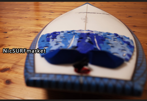 Timmy Patterson CHOPPED CLAM 中古ショートボード 5`11 deck-detail No.96291344