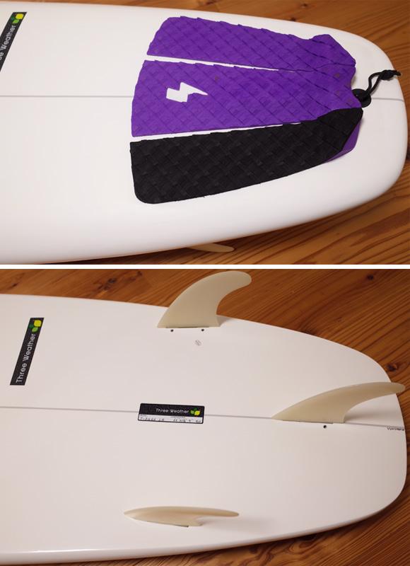 スリーウェザー PERFORMER 中古ファンボード 6`6 tail No.96291345