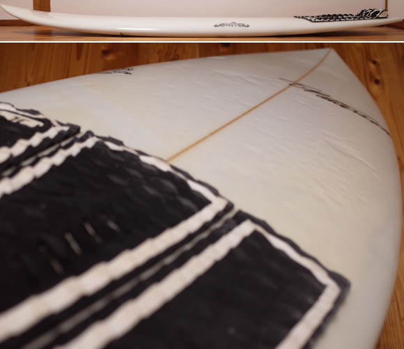 ティミー・パターソン スコーピオン 中古ショートボード 5`7 deck-condition No.96291347