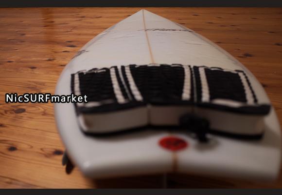 ティミー・パターソン スコーピオン 中古ショートボード 5`7 deck-detail No.96291347