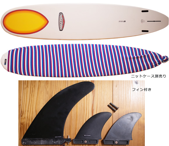 SOUTH POINT EPOXY fin/ニットケース 中古ロングボード 9`2 No.96291352