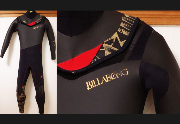 BILLABONG FURNACE 中古ウェットスーツ 5/3mm セミドライ メンズ No.96291353