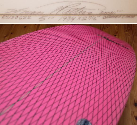 ティミー・パターソン チョップド・クラム 中古ショートボード 5`11 condition No.96291354