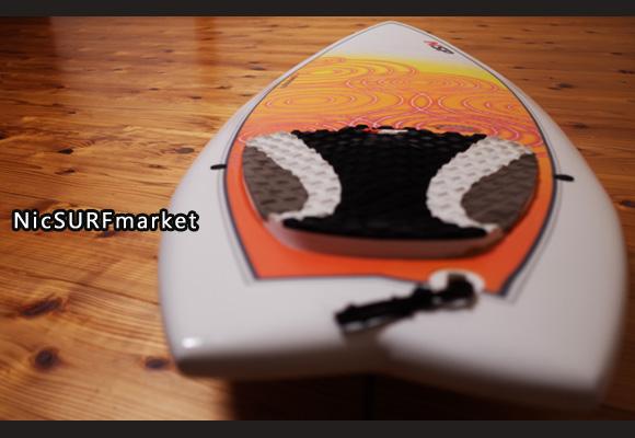 NSP Fish 中古ショートボード 5`6 エポキシ deck-detail No.96291355