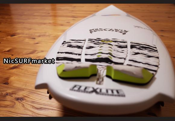 プレセボ タブレット 中古ショートボード 6`0 deck-detail No.96291367