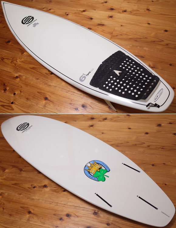 Santa Cruz GALLY 中古ショートボード 6`1 TUFLITE deck/bottom No.96291368