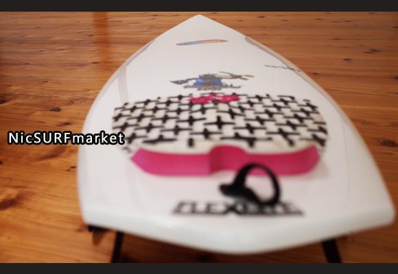 Placebo ROCKET 中古ショートボード 5`7 PLACEBO MAN deck-detail No.96291369