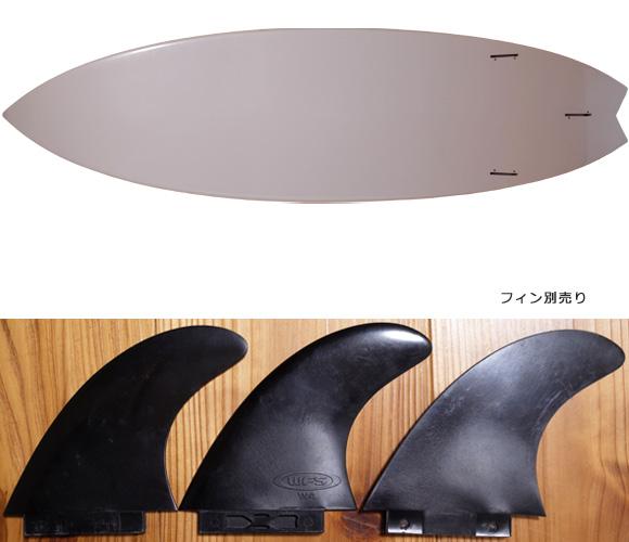 EPOXY 中古ショートボード 5`10 fin/option No.96291370