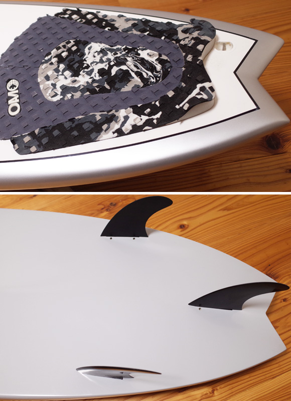 EPOXY 中古ショートボード 5`10 tail No.96291370