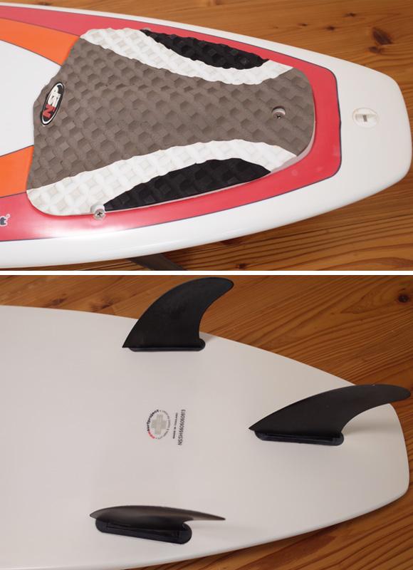 NSP 中古ショートボード 6`6 EPOXY tail No.96291372