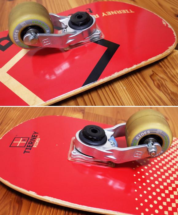 TIERNEY RIDES T-001 Tボード 中古スケートボード ウィール No.96291374