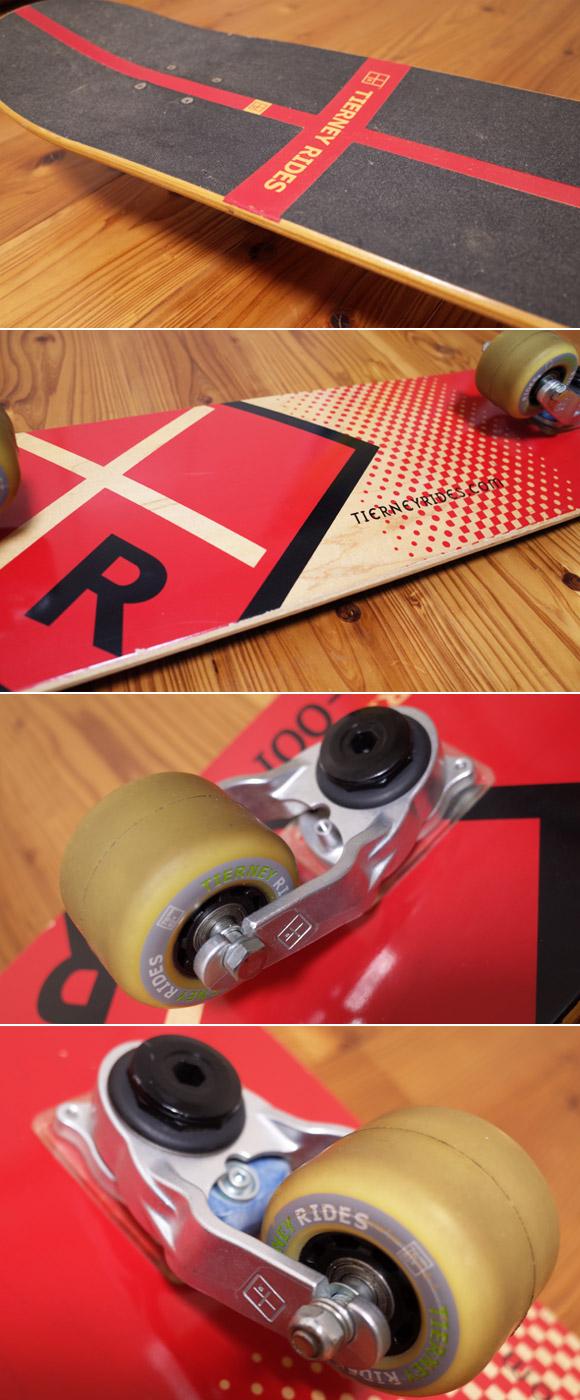 TIERNEY RIDES T-001 Tボード 中古スケートボード コンディション No.96291374