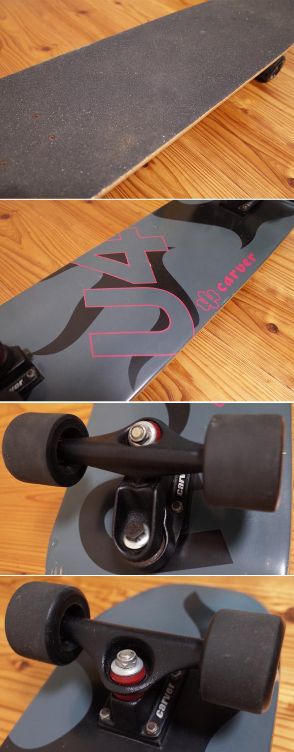 CARVER U4 カーバー 中古スケートボード 36 ウィール No.96291375