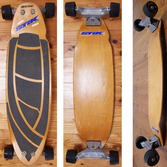CAEVE BOARD - SURF STIK 中古スケートボード 34 deck/bottom No.96291376