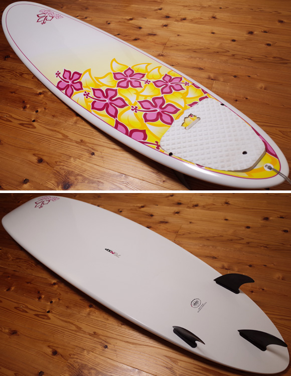 NSP Surfbetty 中古ファンボード 7`6 EPOXY deck/bottom No.96291377
