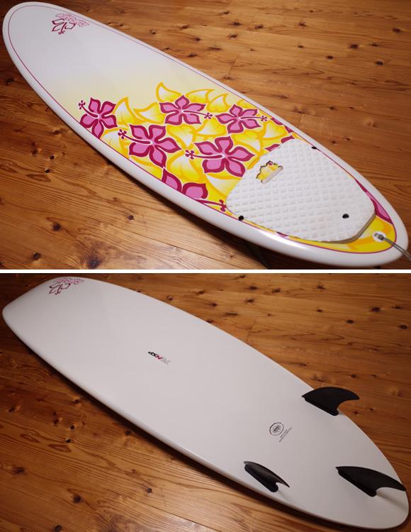 NSP Surfbetty 中古ファンボード 7`6 EPOXY deck/bottom No.96291377