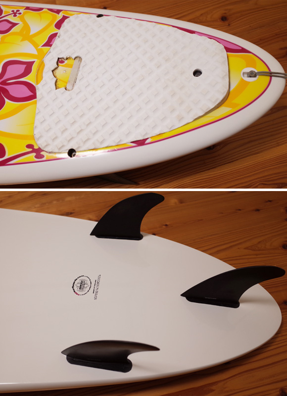 NSP Surfbetty 中古ファンボード 7`6 EPOXY tail No.96291377