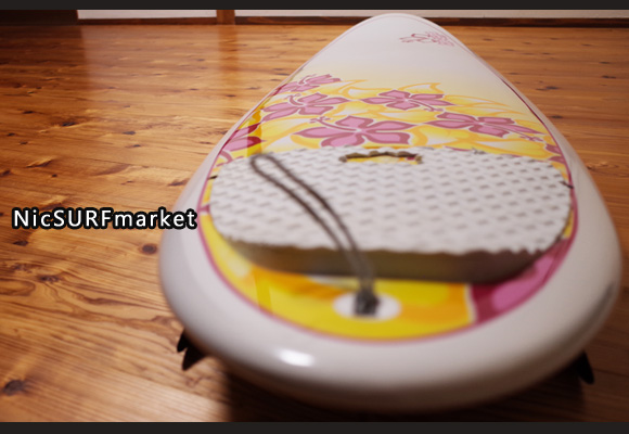 NSP Surfbetty 中古ファンボード 7`6 EPOXY deck-detail No.96291377