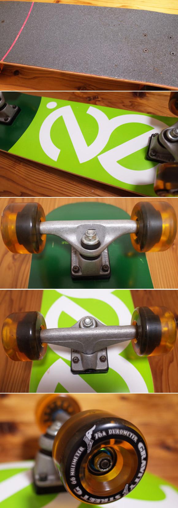 zen 中古スケートボード 31 ウィールcondition No.96291380