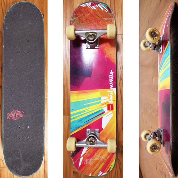 Chocolate 中古スケートボード Daniel Castillo 31 deck/bottom  No.96291381