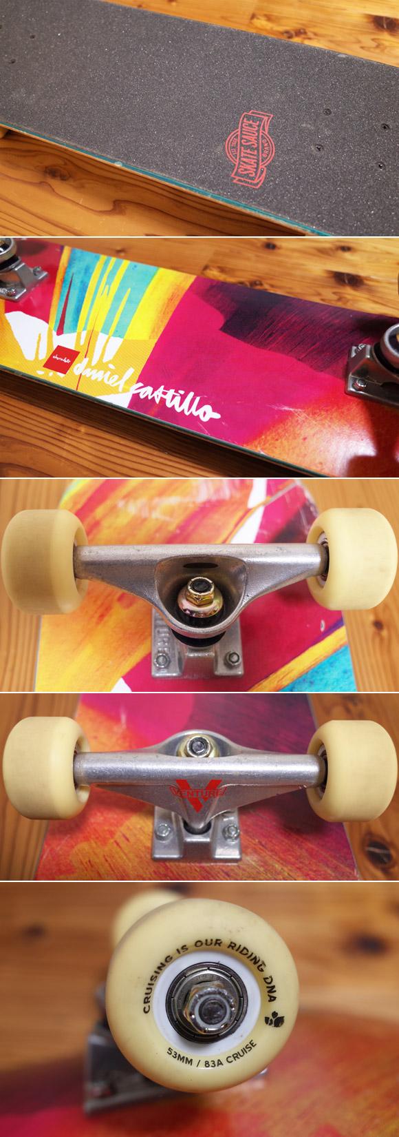 Chocolate 中古スケートボード Daniel Castillo 31 ウィールコンディション No.96291381