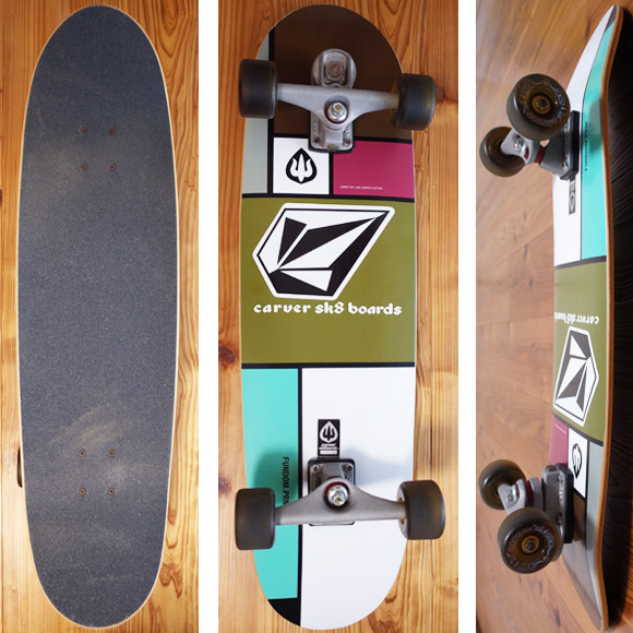 CARVER SK8 中古スケートボード 33.5インチ LIMITED EDITION deck/bottom No.96291382