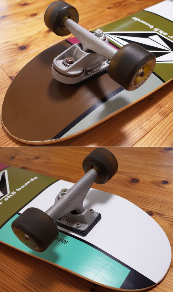 CARVER SK8 中古スケートボード 33.5インチ LIMITED EDITION tracks-condition No.96291382