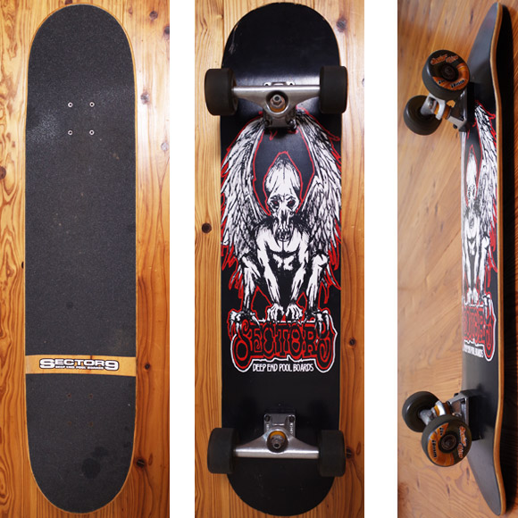 Sector9 中古スケートボード DEEP END POOL 37inch deck/bottom No.96291383