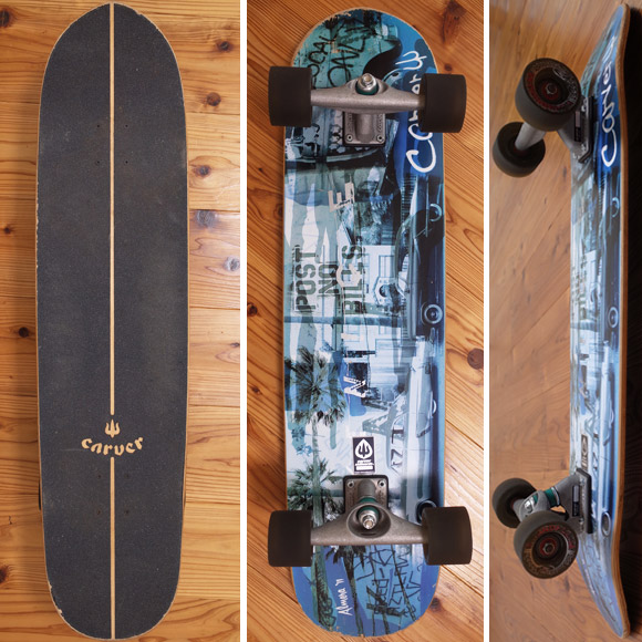 CARVER VENICE 中古スケートボード 36 deck/bottom No.96291384