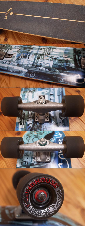 CARVER VENICE 中古スケートボード 36 ウィールコンディション No.96291384