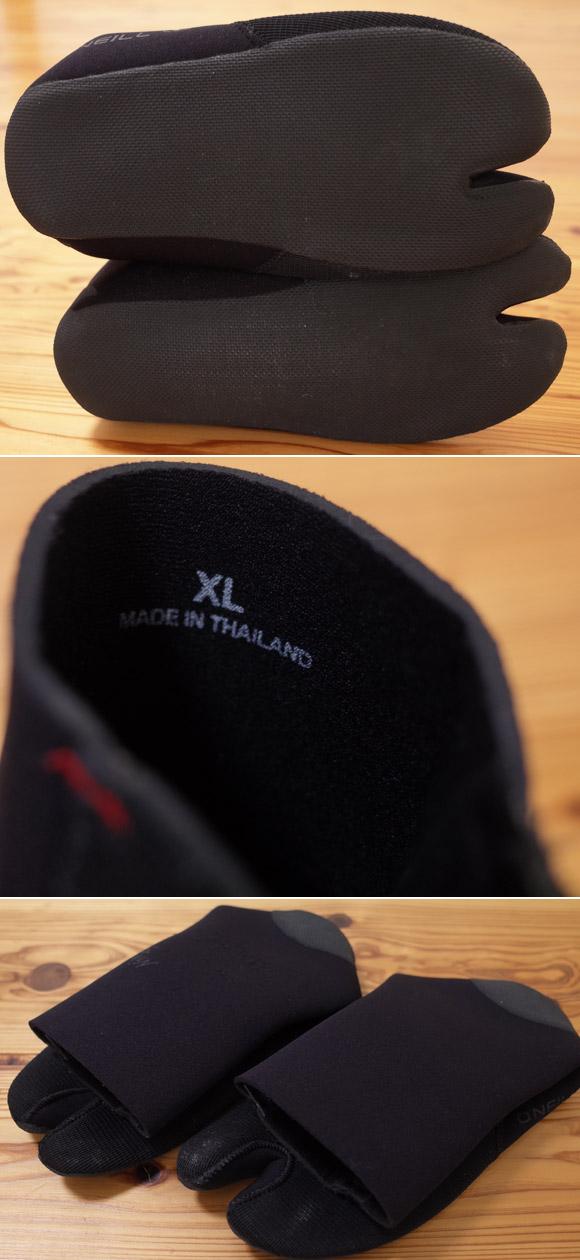オニール NINJA 中古サーフブーツ 3mm XL/28.0cm condition No.96291389