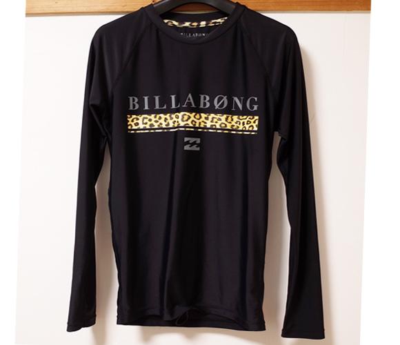 BILLABONG 中古ラッシュガード Platinum X STRECH メンズ M front No.96291392