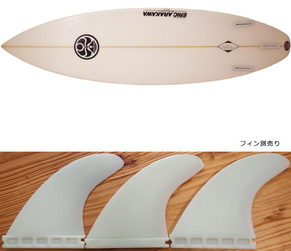 HIC ERIC ARAKAWA PILOT 中古ショートボード 6`2 fin/option No.96291396