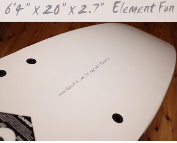 BS 中古 ソフトファンボード ELEMENT FUN 6`4 condition No.96291397