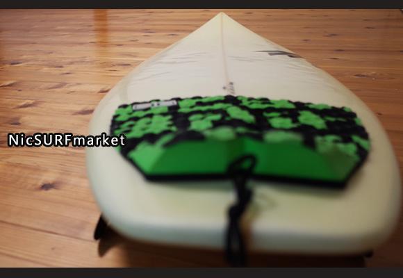 VESSO RAVEN 中古ショートボード 6`0 EPS deck-detail No.96291400