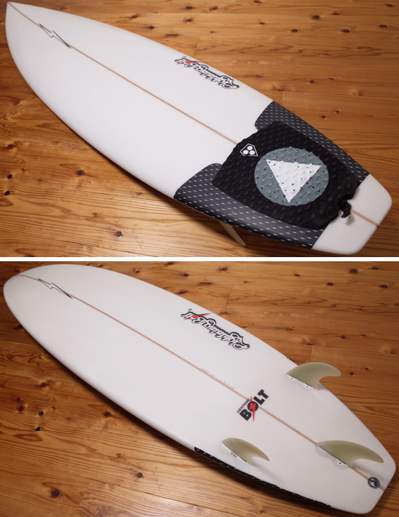 Lightning Bolt 中古ショートボード 6`5 deck/bottom No.96291401