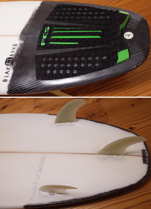 JS 中古ショートボード 5`8 BLACK BOX2 tail No.96291402
