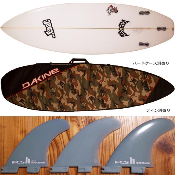LOST ロスト SUB-DRIVER JP 中古ショートボード 5`9  fin/ハードケース No.96291403