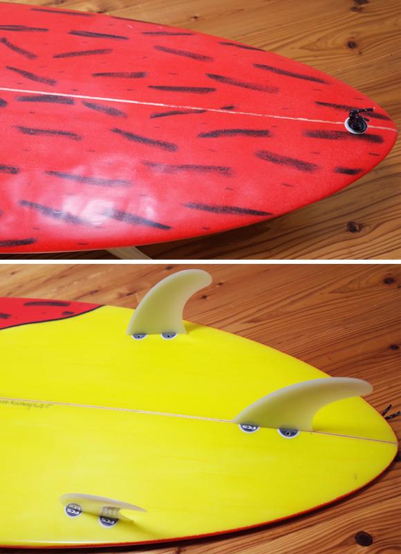 CHRIS GARRETT 中古ファンボード 6`4 Harmony Hull tail No.96291407
