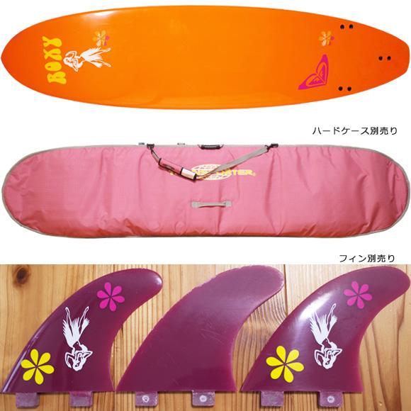 ROXY 中古ファンボード EPOXY 7`6 fin/ハードケースNo.96291413