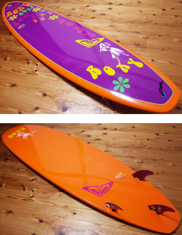 ROXY 中古ファンボード EPOXY 7`6 deck/bottom No.96291413