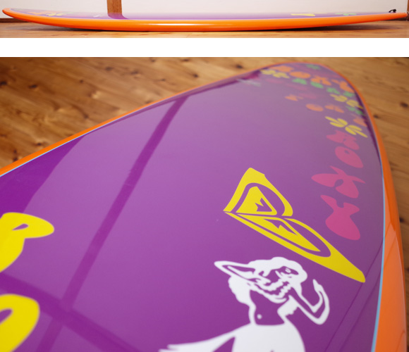 ROXY 中古ファンボード EPOXY 7`6 deck-condition No.96291413